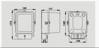dd118型系列长寿命技术单相感应式电能表