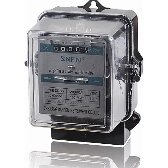 Electrical Phase Meter : Dd single phase long life electrical meter fengyi